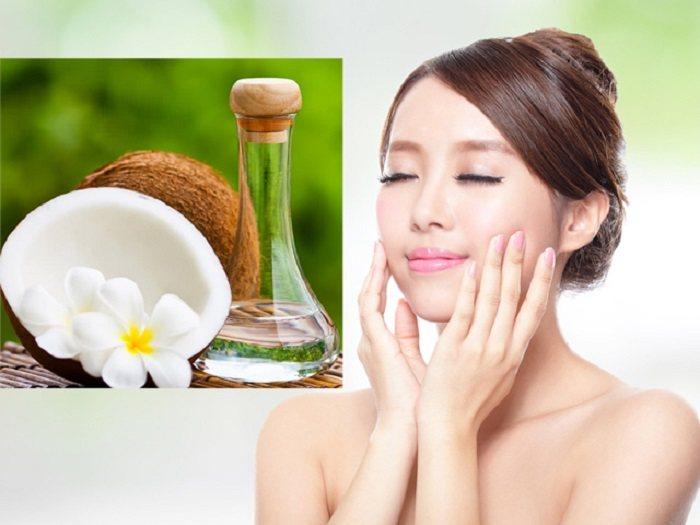 dầu dừa dưỡng ẩm da