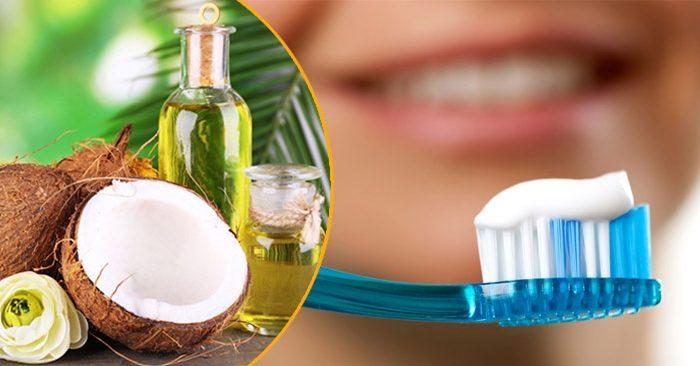 dầu dừa ngừa sâu răng
