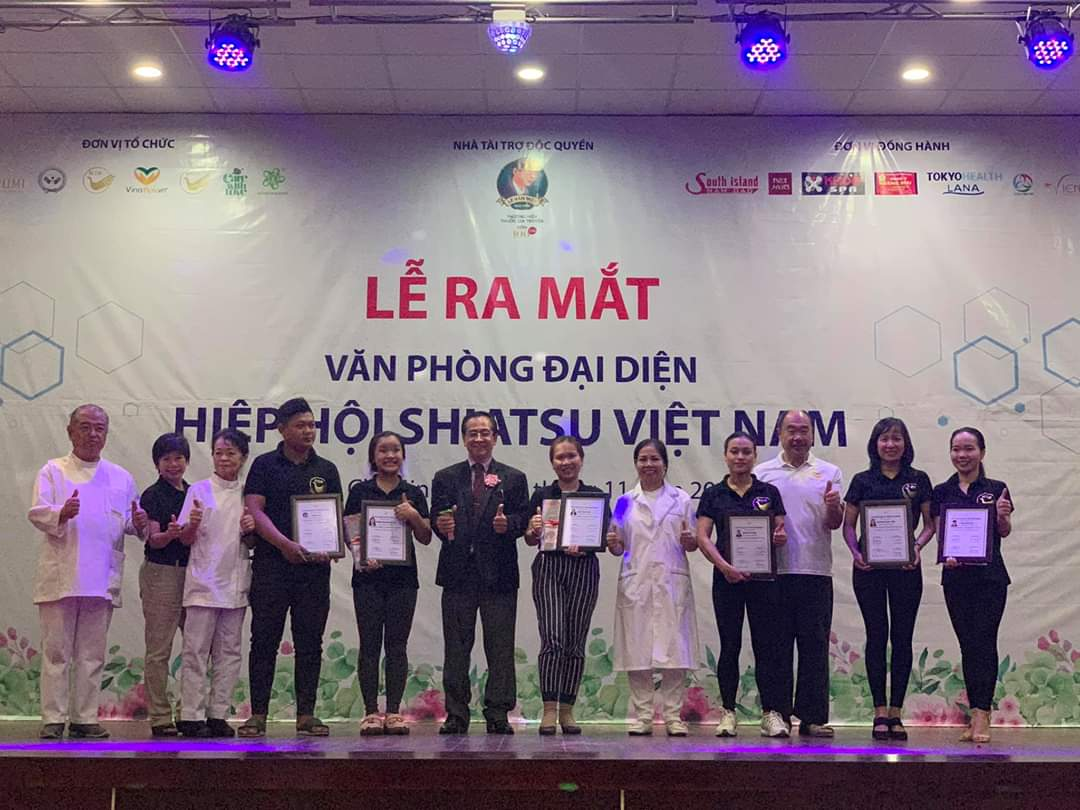 Golden Ocean Spa gia nhập hội Shiatsu Việt Nam