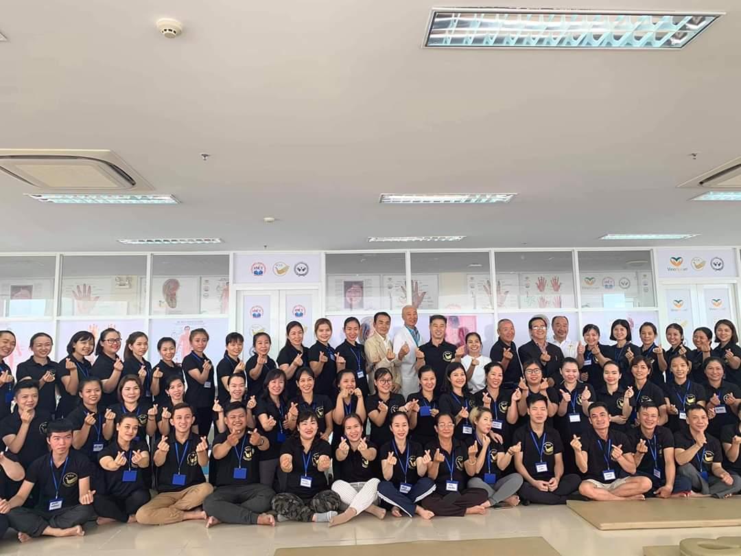 Golden Ocean Spa tham gia buổi đào tạo của hội Shiatsu Việt Nam