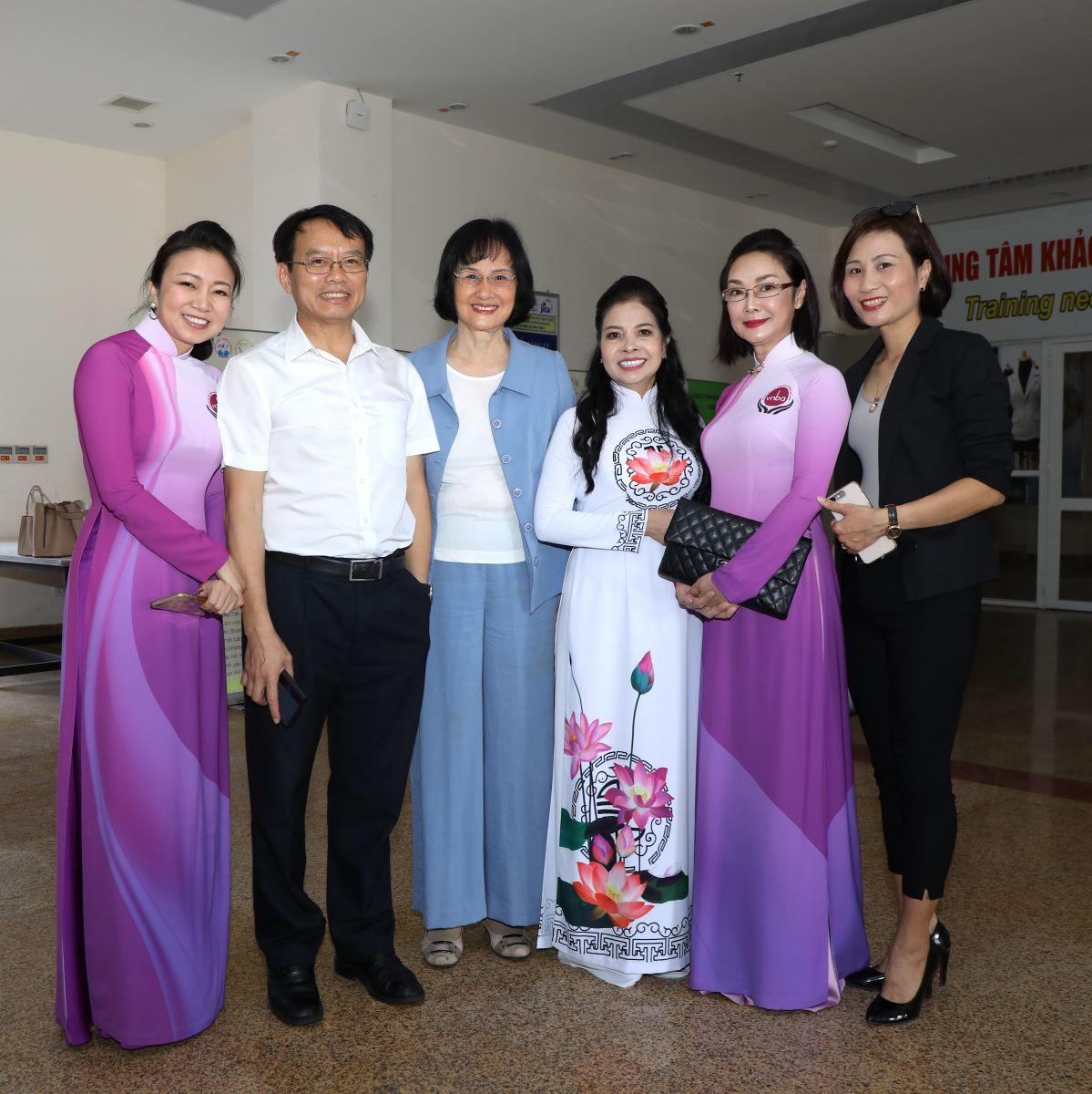 Đại diện Ban lãnh đạo của VNBA